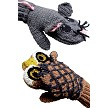 Predator Vs Prey Mittens for Adults - Owl Vs Mouse