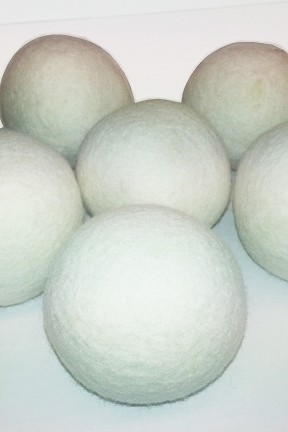 Wool Dryer Balls - 6 piece set